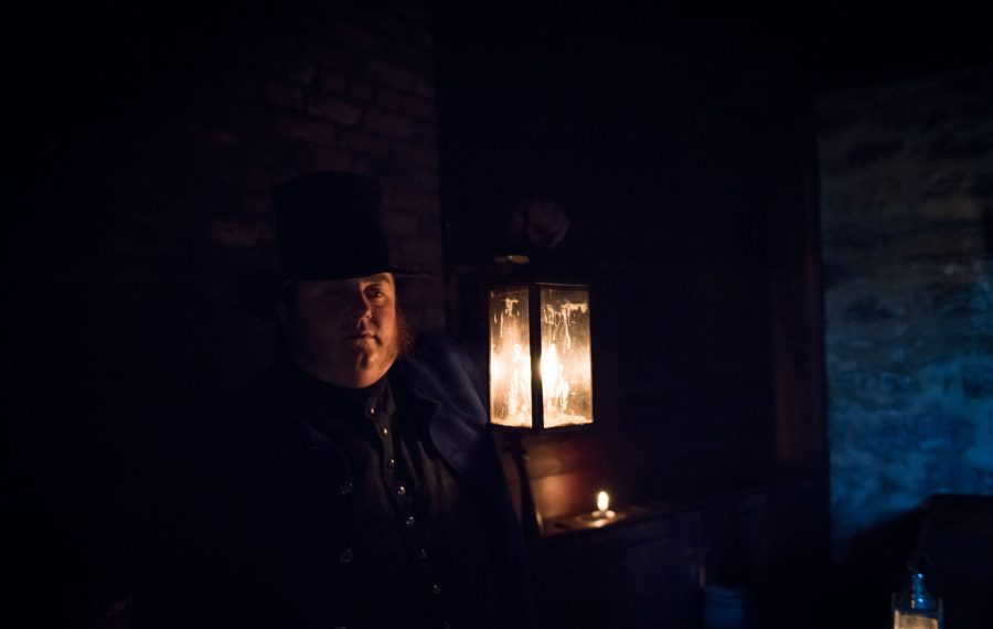 Ghost tours return to Old Fort Erie, Ont. this month. (Courtesy Niagara Parks)