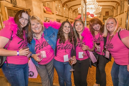 Recording artist Maddie Poppe was the main attraction at the Pink Party, held Wednesday, Oct. 9, 2019 in Statler City. See who enjoyed the music, shopping, and food and drinks inside the Golden Ballroom. The show was presented by Star 102.5 FM and Entercom.