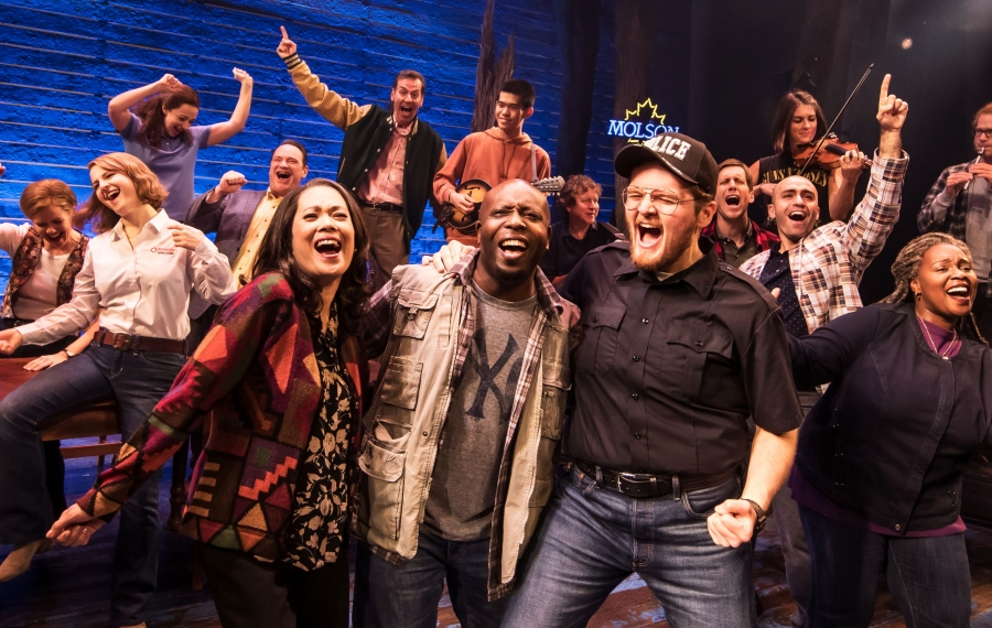 """At Shea's Buffalo Theatre, """"Come From Away"""" is an uplifting story that came from the actions of a Canadian town on one of  America's darkest days."""