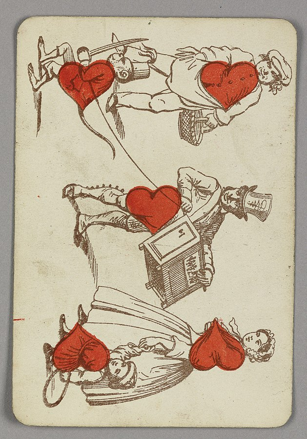 Late 19th Century English playing card  (Cooper Hewitt Collection/Smithsonian Design Museum)