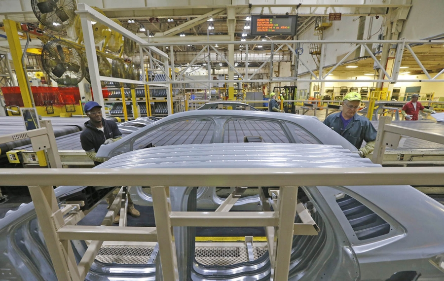 Ford giving Woodlawn stamping plant a $60 million vote of confidence