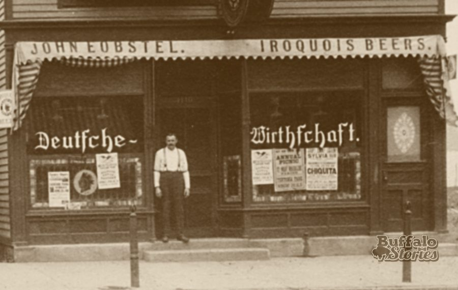 A typical German tavern along Fillmore Avenue, 1911.