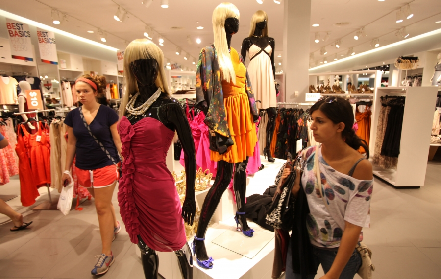 H&M's fast-fashion business model has set the trend cycle to turbo speed. (News file photo)