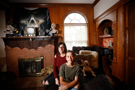 Samantha Muscato's home in the City of Tonawanda is transformed into a Halloween wonderland. After viewing the gallery, you can find the story under the Related Content heading below.