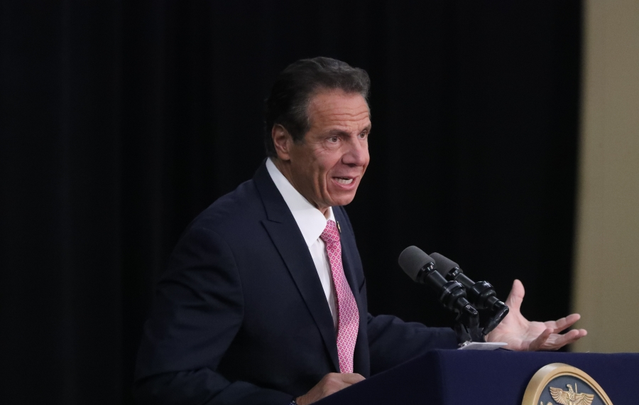 Gov. Andrew M. Cuomo has hinted he will combine a special election for the 27th Congressional District with the presidential primary in April. (James P. McCoy/News file photo)