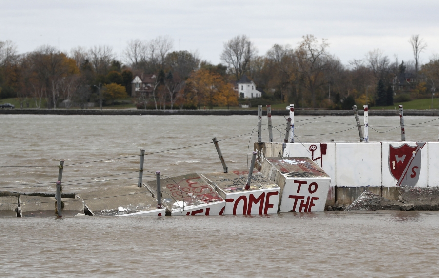 Erie County officials hoping for federal aid for Halloween storm