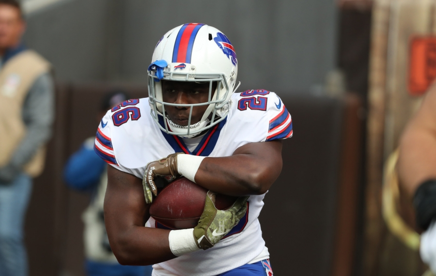 Bills running back Devin Singletary fumbled twice last week against Miami. (James P. McCoy/News file photo)