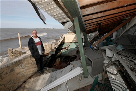 Hoover Beach residents are reeling from more storm damage Thursday. They are continuing cleanup on Monday, Nov. 4, 2019. Homeowners are wondering if there is going to be help for the damage to their homes and if something is going to be done to prevent this from happening in the future.