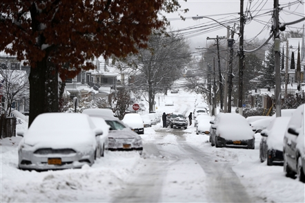 A forecast that warranted the National Weather Service's first winter storm warning of the season is calling for a total of 6 to 10 inches of snow Monday, with the worst accumulation coming Monday evening. The greatest accumulations are expected inland from the Buffalo metro area. Send us your winter weather photos and we may feature a few of them on BuffaloNews.com. Please include when and where the images were taken for caption information.