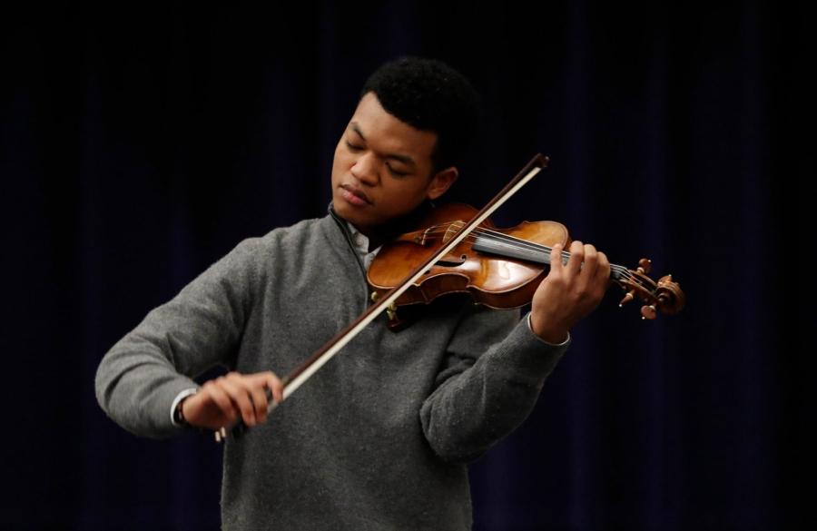 Randall Goosby-violinist-International School-2019