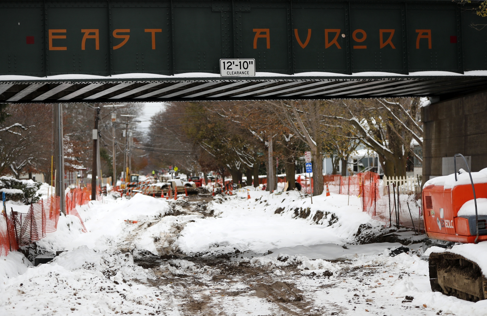 Road project blues in East Aurora to be marked by – what else? – a festival - Buffalo News