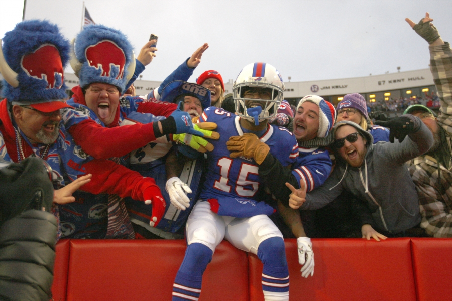 Denver Broncos-Buffalo Bills-John Brown-2019
