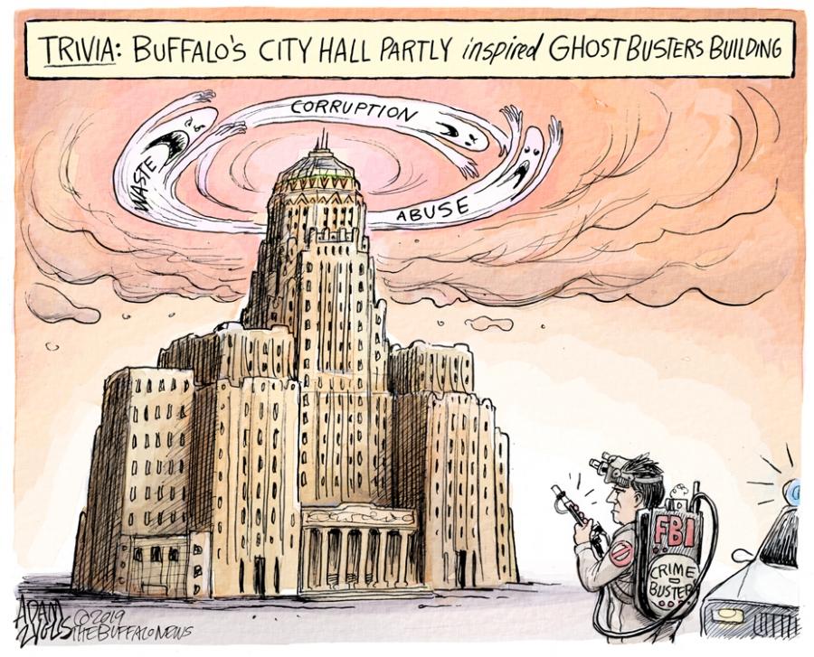 City Hall corruption: November 13, 2019