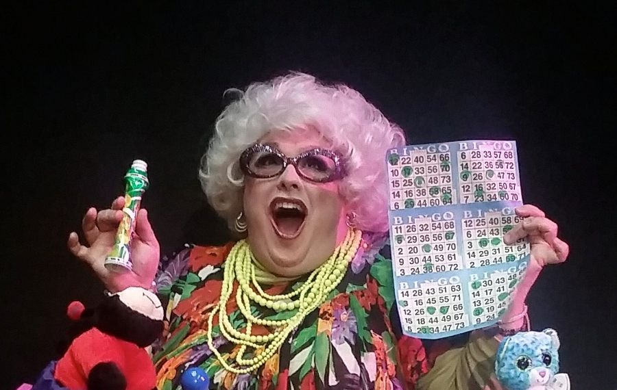 "Joey Bucheker stars in ""Betsy Carmichael's Bingo Palace,"" for one show only Nov. 16 at O'Connell & Company."