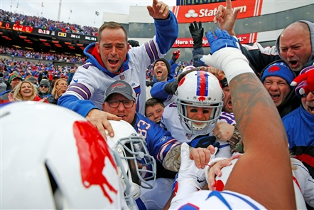 The Bills did the expected in getting the win that gave them a 6-2 record, while the Redskins fell to 1-8.