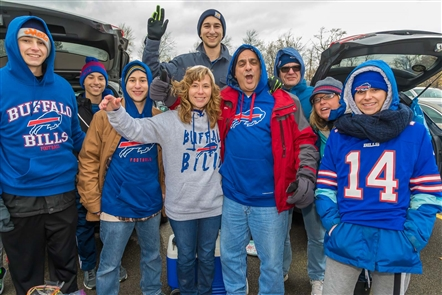 The Buffalo Bills played their third straight home game, a clash against the Washington Redskins, on Sunday, Nov. 3, 2019. See the fans who hung out before the game in Orchard Park.