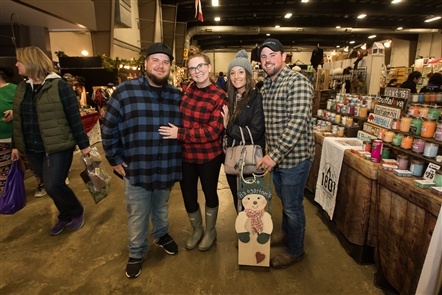 The fourth and final day of Christmas in the Country, the annual vendor market that takes over five buildings at the Hamburg Fairgrounds, ran on Sunday, Nov. 10, 2019. See the shoppers getting an early jump on the holidays.