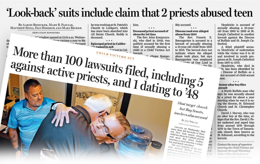 Priests accused of abuse still getting paid by diocese, some for decades
