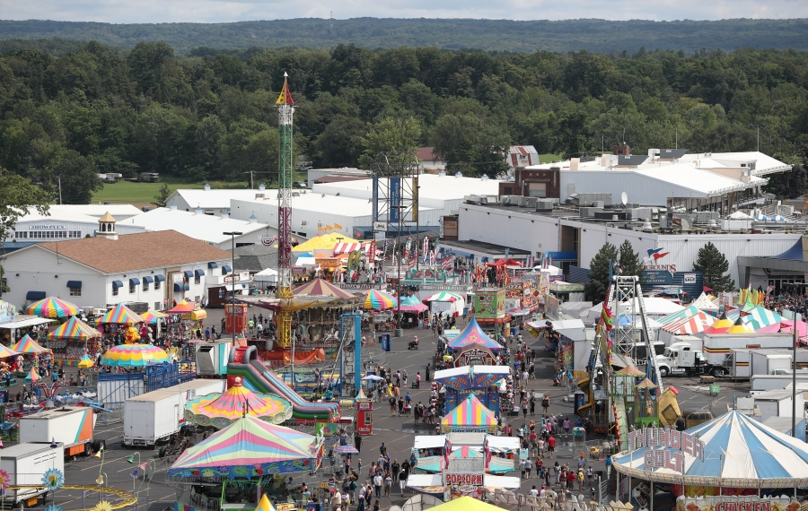 The Erie County Fair is one of the events run throughout the year at the Hamburg Fairgrounds. (Sharon Cantillon/News file photo)
