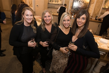 The monthlong Festival of Trees - a Christmas-themed fundraiser for Oishei Children's Hospital - kicked off with the Glitter & Glamour Fashion Show, held Thursday, Nov. 14 in Salvatore's Italian Gardens. See the trendy designs of Lucian Matis and the models who showcased them.