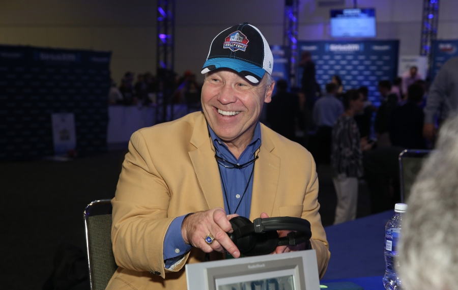 Joe DeLamielleure is eagerly anticipating the Bills' game on Thanksgiving. (Cindy Ord/Getty Images file photo)
