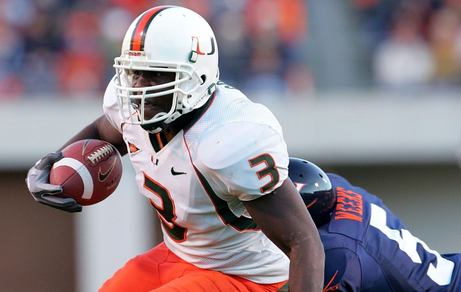 'I'd never bet against Frank Gore': 2001 Miami Hurricanes on an all-time great