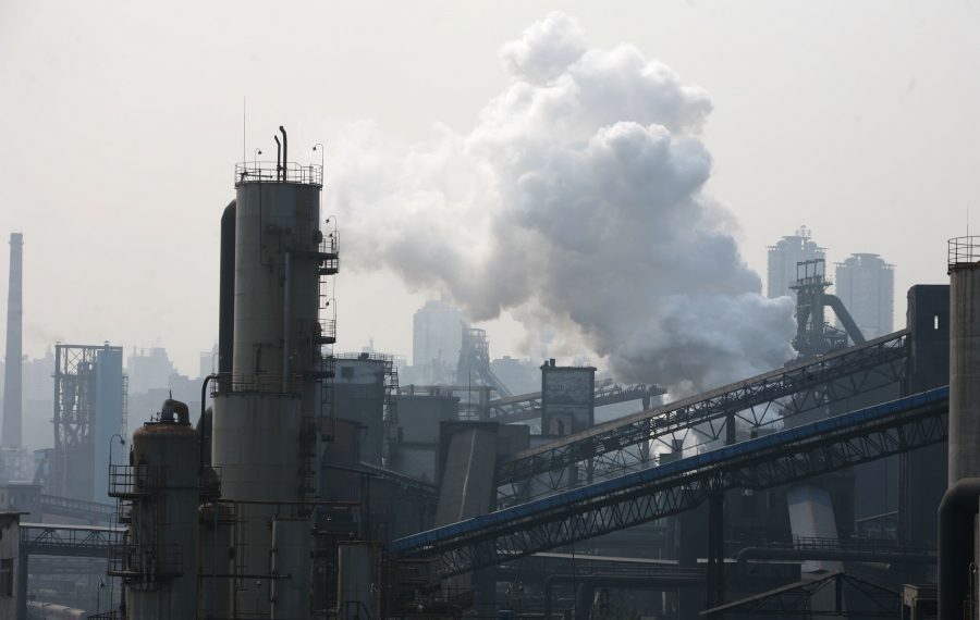 China remains the world leader in emissions. (Getty Images)