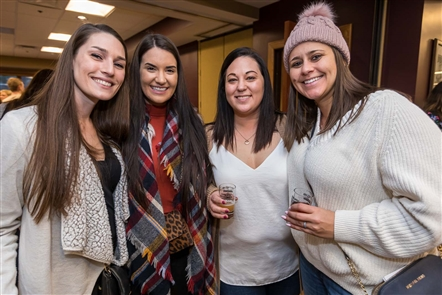 Regional breweries and wineries showcased their wares on Saturday, Nov. 9, 2019, at Holiday Valley's Beer and Wine Festival on three floors of the lodge, with two tents added to accommodate more brewers.
