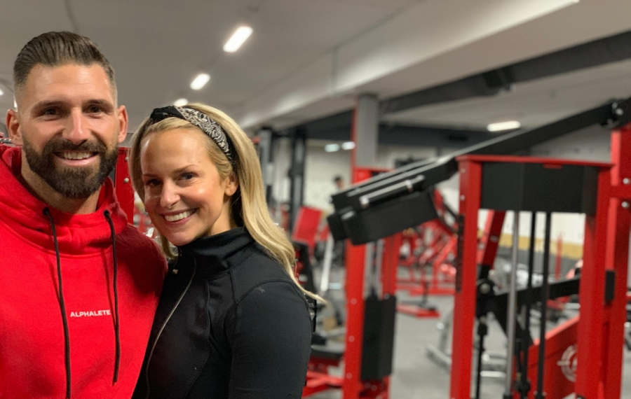 Jada Blitz Fitness owners Justin and Ashley Draper will close their Transit Road gym on Friday and transition into the former Buffalo Athletic Club Eastern Hills Mall site. (Scott Scanlon/Buffalo News)