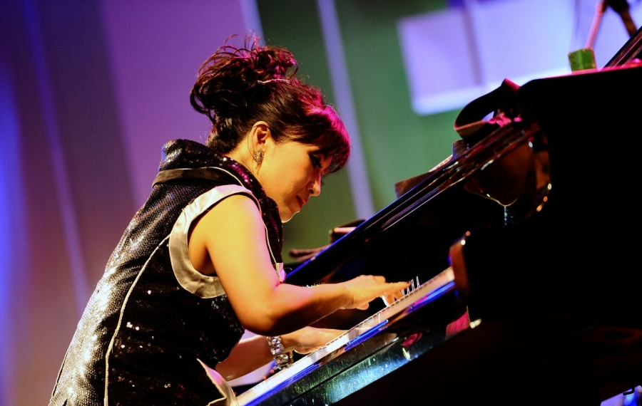Jazz pianist Keiko Matsui opens the new season of Great Performers at the Buffalo State Performing Arts Center. (Getty Images)