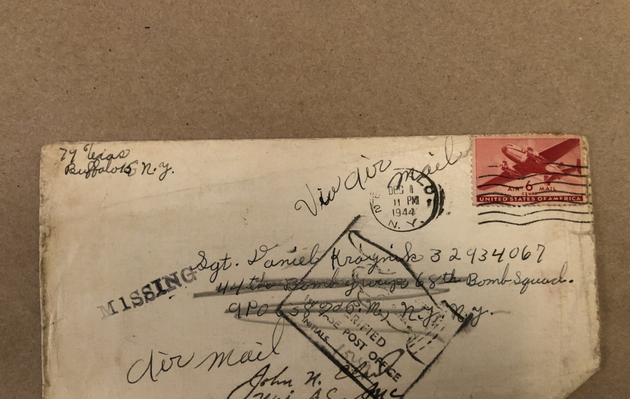 A box, a letter and a blessed connection to a soldier who