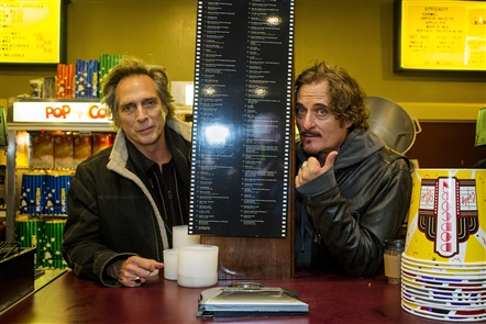 Cheektowaga native William Fichtner and co-star and co-producer Kim Coates were at the Aurora Theatre in East Aurora Saturday, Nov. 9, 2019, for the premiere of