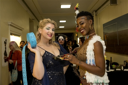The Niagara Arts and Cultural Center presented the Art of Fashion, a wearable art show with the theme of