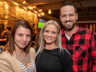 New York Beer Project marked its fourth birthday with a full weekend of festivities, beginning with a beer collaboration with Perry's Ice Cream and continuing with a show by Dueling Pianos, both on Friday, Nov. 15, 2019, in Lockport. The party continues all day Saturday and with a champagne brunch and Bills game gathering on Sunday.