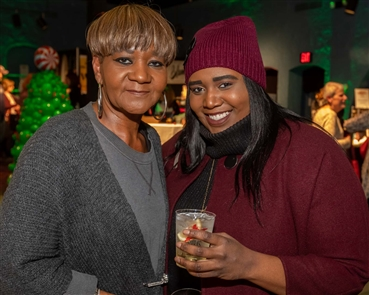 Mix the grandeur of Shea's lobby and theater with local vendors and a cash bar and you have the Shea's Shopping Soiree, a classy holiday market held Thursday, Nov. 21, 2019.