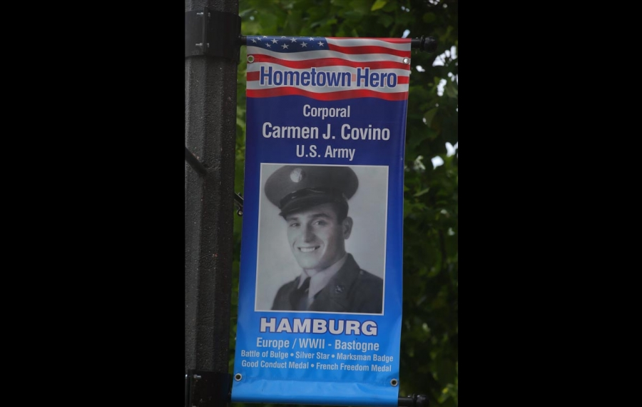 Applications are being accepted for next year's Hometown Heroes banners in Hamburg. (John Hickey/News file photo)