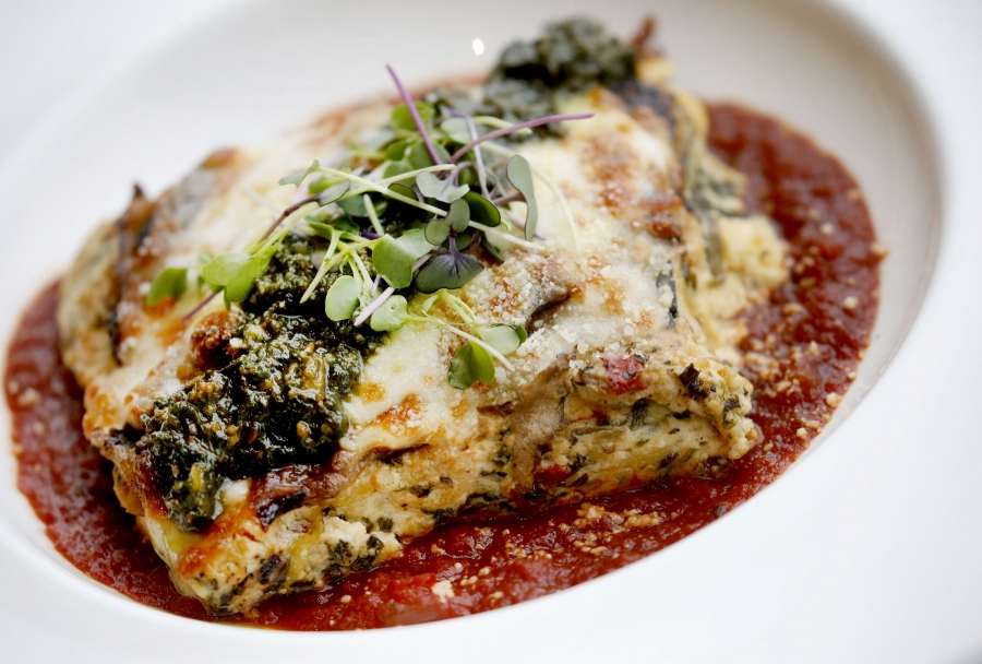 Jazzboline garden vegetable lasagna