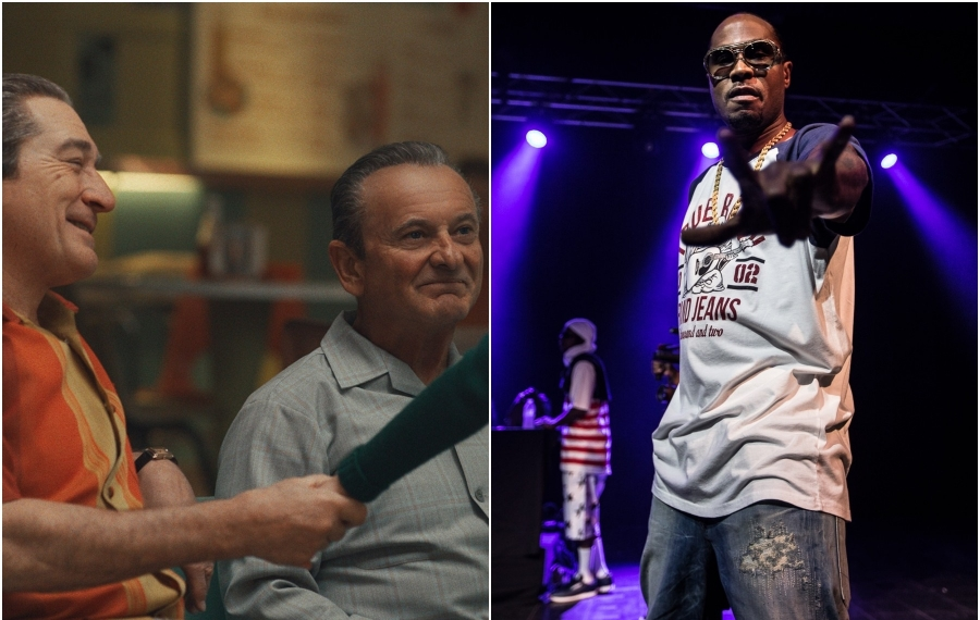 """Robert De Niro, left, and Joe Pesci star in """"The Irishman,"""" while Bone Thugs-N-Harmony is in Buffalo for a rare appearance. (movie pic via Netflix; Chuck Alaimo/Special to The News)"""