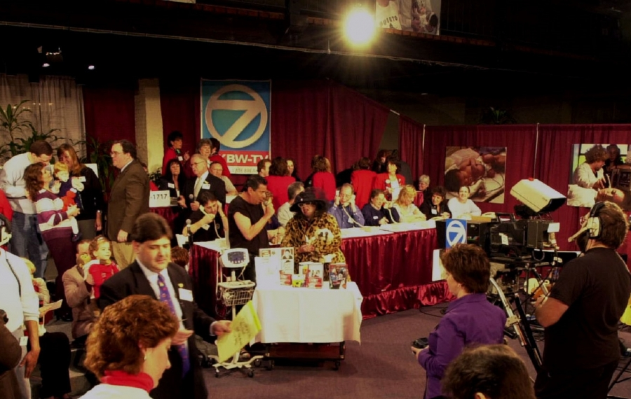 Channel 7 had hosted the Variety Club Telethon for 57 years, pictured here in 2005, but the telethon is now moving to Channel 2. (Buffalo News file photo)