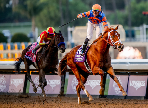 Post Time Vino Rosso Toasts Breeders Cup Classic With