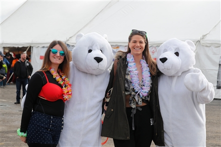 The Polar Plunge returned for a 13th time on Saturday, Dec. 7, 2019, at Woodlawn Beach, with proceeds benefiting Special Olympics New York. It's a full day of wacky costumes and defeating the mental hurdle of sprinting into freezing waters, but it's all for a legitimate cause.