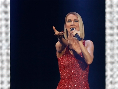 Celine Dion performs at KeyBank Center on Thursday, Dec. 5, 2019.