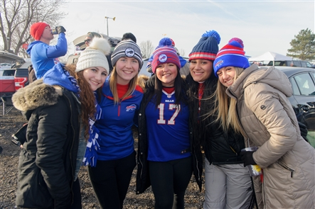 The Buffalo Bills clashed with the Baltimore Ravens in a match-up of two contending AFC teams on Sunday, Dec. 8, 2019 at New Era Field. See the fans who got ready for the big game.