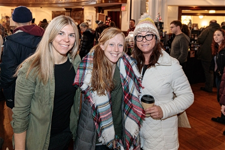 The Queen City Market, a one-day, one-stop-shopping event showcasing a mix of local artisan crafters and vintage sellers, took place on Saturday, Dec. 7, 2019, at the Karpeles Manuscript Library Museum at 453 Porter Ave.