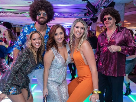 One of the most anticipated events of the year – it always sells out well in advance – the World's Largest Disco raged on Saturday, Nov. 30, 2019, at the Buffalo Niagara Convention Center. See who turned back the clock in style and danced deep into the evening.