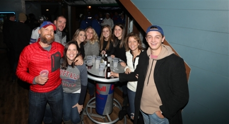 Fans showed up for the Buffalo Bills Backers party in Pittsburgh, the day before the Week 15 game which will be played at Heinz Field at 8:20 p.m. Sunday, Dec. 15, 2019.