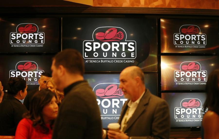 Sports betting debuts in Buffalo at Seneca Buffalo Creek casino
