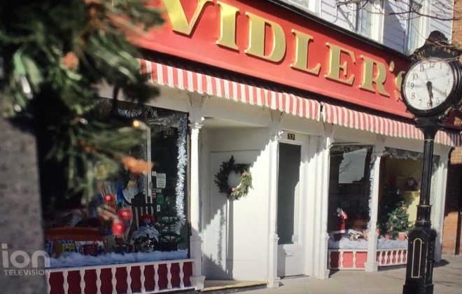 "Vidler's has a spotlight role in the new holiday movie ""A Christmas Princess,"" now showing on ION Television."