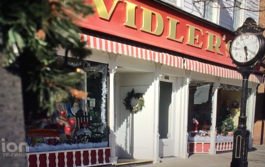 """Vidler's has a spotlight role in the new holiday movie """"A Christmas Princess,"""" now showing on ION Television."""