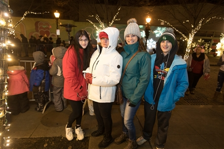 Old Falls Street in Niagara Falls bustled on the first Jingle Falls of 2019 on Saturday, Nov. 30, 2019, with a tree lighting, fireworks, food and drink vendors, and an opening street party. See the holiday cheer that will continue the following two Saturdays.